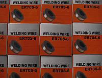 Дріт зварювальний ER70S-6 1.0 (нетто 15кг.)