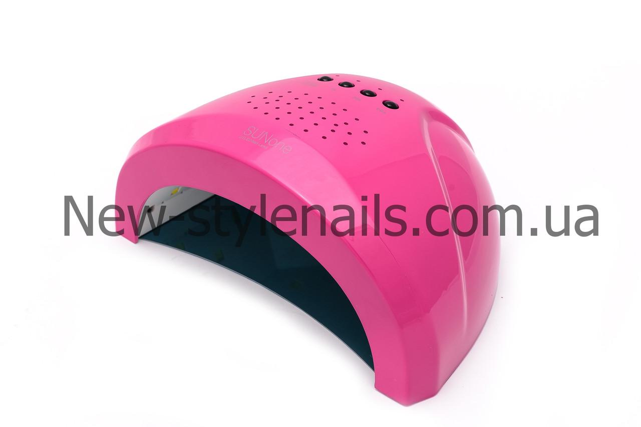 Гибридная лампа  для сушки ногтей UV/LED  Sun One 36W , цвета в ассортименте