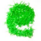 Боа из перьев 50г зеленое