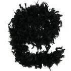 Боа из перьев 80г черное