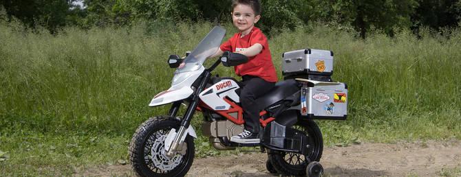 Детский мотоцикл Peg Perego DUCATI HYPERCROSS 170W