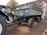 Аренда тракторного прицепа для вывоза мусора