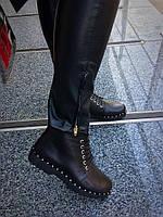 Ботиночки Comfort.Натуральная кожа/замш.Турецкие комплектующие, внутри итальянская байка.Р-р 36-40.Цвет черный