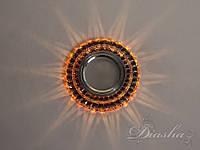 Светильник со встроенной светодиодной подсветкой 7672PK