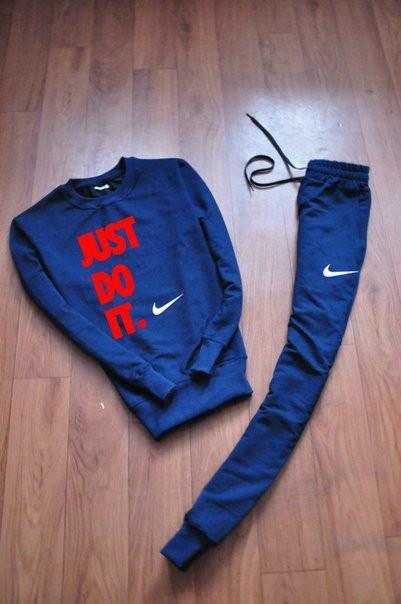 Чоловічий тренувальний спортивний костюм реглан Nike (Найк)