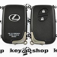 Оригинальный смарт ключ для LEXUS LX, RX, GX, GS (Лексус) 2 кнопки, p1:94, 433MHz, для авто с 2005 - 2008г.