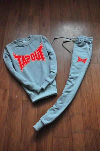 Спортивный мужской летний костюм Tapout (Тапаут)