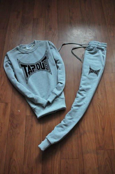 Летний мужской спортивный костюм для тренировок Tapout (Тапаут)