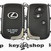 Оригинальный смарт ключ для LEXUS LX, RX, GX, GS (Лексус) 3 кнопки, p1:98, 433MHz, для авто с 2008г.