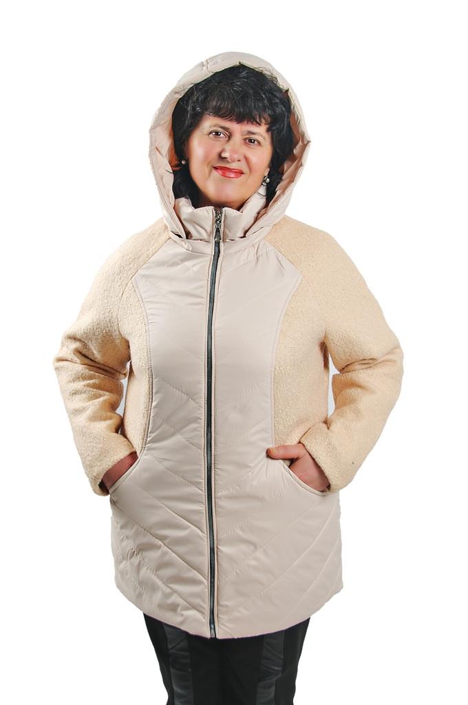 Женская куртка с капюшоном (демисезон)