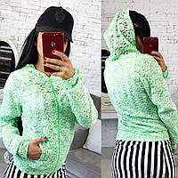 Куртка женская из гипюра «gepur»