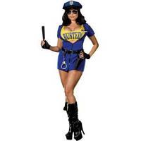 Карнавальный костюм Полицейский женский стрип, фото 1