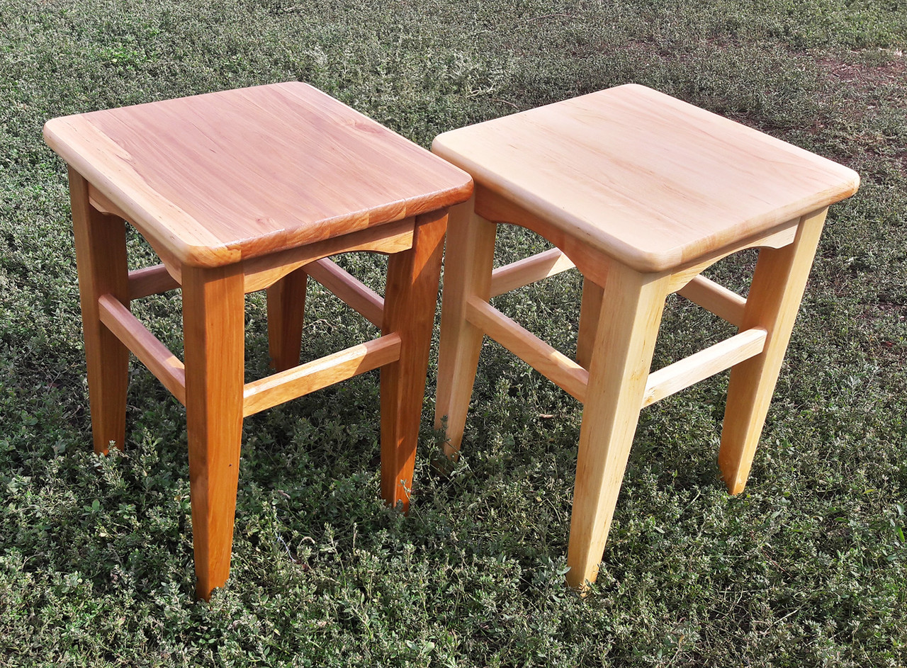 Табурет с сидушкой из дерева - Магазин мебели небольших размеров в Харькове