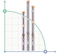 Скважинный центробежный глубинный насос для водоснабжения 90QJD118-0,75