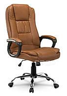 Кресло офисное EG-230 коричневое, В НАЛИЧИИ Наложка