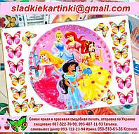 Дисней принцессы - вафельные картинки