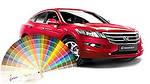 Правильный подбор краски для авто и расчет ее количества
