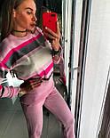 Женский стильный вязаный костюм: пуловер/свитер и брюки (4 цвета), фото 3
