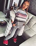 Женский стильный вязаный костюм: пуловер/свитер и брюки (4 цвета), фото 9