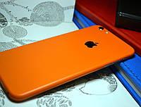 """Виниловая наклейка """"Оранжевый мат"""" Iphone 6 PLUS / 6S PLUS (0,1 mm)"""