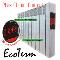 "Электрорадиатор EcoTerm Plus Climat Control ET-9c, стандарт 76"""