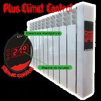"Электрорадиатор EcoTerm Plus Climat Control ET-11c, стандарт 76"""