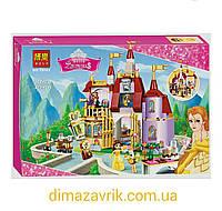"""Конструктор Bela 10565 (Аналог Lego Disney Princess 41067) """"Заколдованный замок Белль"""", 376 дет, фото 1"""