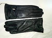 Перчатки женские из натуральной кожи на меху