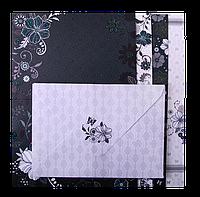 Заготовка для открыток zibi zb.18224-ad с цветными конвертами fancy 10.5*14.8см