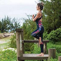 Комбинезон спортивный женский для фитнеса, йоги, спорта, бега, зала