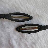 Заколочка(зажим) для волосся, чорна