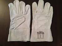 Перчатки кожаные ( спилок )