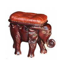 """Кожаный мягкий пуф """"Слон"""""""