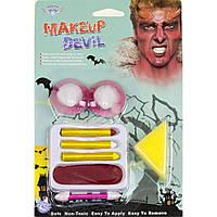 Грим-карандаш с рогами дьявола - палитра красок для вашего образа!