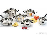 Набор посуды BergHOFF Vision Premium 12 предметов (1112466)
