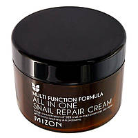 Крем для лица с экстрактом слизи улитки MIZON All In One Snail Repair Cream