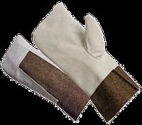 Вачеги суконные со спилком ( перчатки для работы )