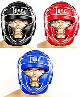 Шлем для единоборств с прозрачной маской FLEX EVERLAST (р-р M-XL)