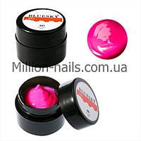 Bluesky, гель-паста 5d 8ml (с липким слоем) цвет розовый, №02