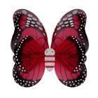 Крылья Бабочки пятнистые красные 42х48 см