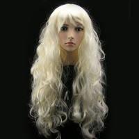 Парик мега длинный 90 см блонд