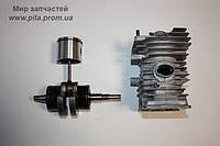 Двигатель: цилиндр, поршень, коленвал, сальники, подшипники для Solo 636, 643