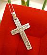 Крест мужской серебро 925, фото 5