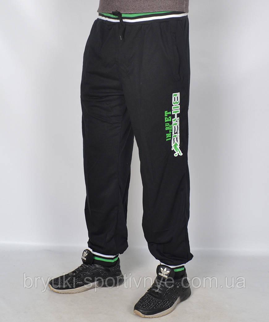 Штаны спортивные мужские трикотажные - манжет ( остатки два размера M & L)