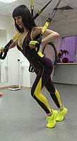 Комбинезон спортивный женский компрессионный для фитнеса, йоги, спорта, бега, зала