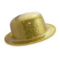Шляпа Котелок Пластик Блестящая, фото 1