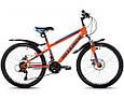 """Подростковый велосипед INTENZO FORSAGE 24"""",13""""   Салатовый, фото 2"""