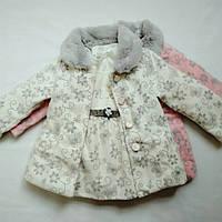Пальто 3в1 для девочки 1-5 лет