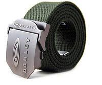 Пояс тактический Oakley (нейлон, метал. пряжка, р-р-120*3,5см, цвета олива)