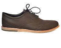 Большой размер. Туфли мужские кожаные коричневые броги Rosso Avangard BS Felicete Shock SE, фото 1